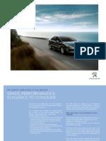 Peugeot 408 Press Info English
