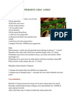 Kek Lapis Peppermint Choc Andes
