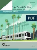 Metro Art Program Fact Sheet