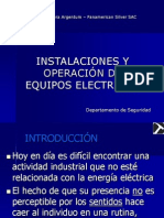 CAPACITACIÓN ACCIDENTES DE ENERGIA ELECTRICA