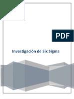 Investigación sobre Six Sigma