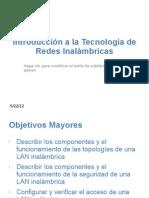 Introducción a la Tecnología de Redes Inalámbricas