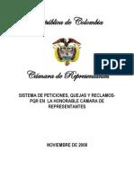 Manual Sistema de Peticiones , Quejas y Reclamos de La h.c,r