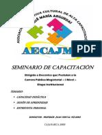 Capacidad Didactica y Sesion de aprendizaje
