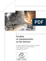 Freedom of Communication on the Internet_en