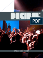 2012 dB Festival Sponsorship Packet