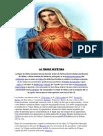 La virgen de Fátima religion