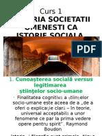 Curs 1 Istoria Societatii