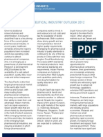 ASEAN Life Science Insights Retail Asia Pharma Industry Outlook 012012