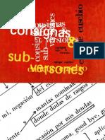 Enrique Eusebio - Consignas y Sub-Versiones
