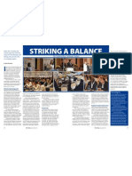 RT Vol. 11, No. 1 Striking a balance