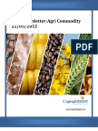 Daily Agricommodity Report 22-05-2012