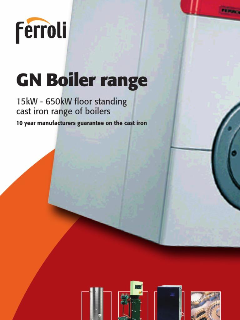 GN Boiler Range | Boiler | Water Heating