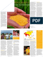 RT Vol. 10, No. 4 Golden grains for better nutrition
