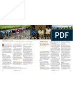 RT Vol. 10, No. 4 Women of war turn to rice in Burundi