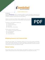 Testing & Validation Services
