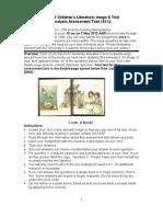 Analysis Assessment Look, A Book!