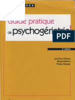 Guide Pratique de Psychogeriatrie