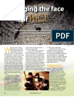 RT Vol. 10, No. 2 Changing the face of rice