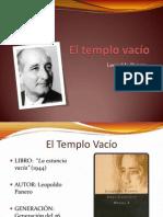 Leopoldo Panero - El Templo Vacío