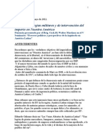 PONENCIA ESTRATEGIAS MILITARES Y DE INTERVENCIÓN DEL IMPERIO MAYO 2012