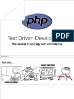 TDD with PHP - the secret of coding with confidence