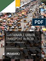 EMBARQ 2011 Sustainable Urban Transport India
