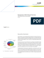 CIO Cloud Survey 04.2011