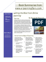 Getting the Most From Online Learning (Book review)