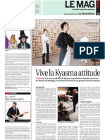Kyasma - Le Nouvelliste 2010