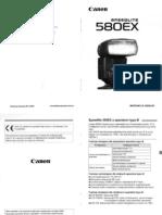Instrukcja PL - Canon 580EX [scan]