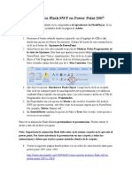 Insertar Archivos Flash SWF en Power Point 2007