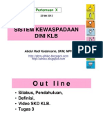 Epid Lingk a- Wabah 3 - Sist Kwaspdn Dini KLB - 22 Mei 2012