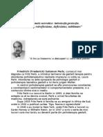 Mecanisme de Aparare in Gestalt-Text
