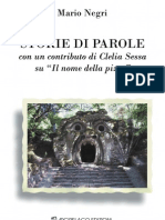 Mario Negri-Storie Di Parole- Introduction and ch. 1