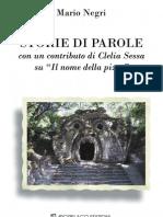 Mario Negri-Storie Di Parole- Introduction and ch. 1