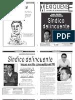 Versión impresa del periódico El mexiquense 22 mayo 2012