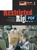REPORT:RESTRICTED RIGHTS