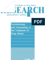 Psychotherapy and Counseling in the Treatment of Drug Abuse - Lisa Simon Onken