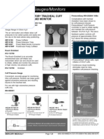 ADR Cuff Pressure Gauges Monitors
