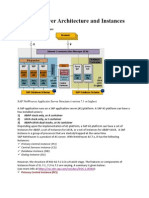 SAP Netweaver Architecture and Instances