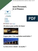 Www.sameliorer.com Revue Les 7 Habitudes de Ceux Qui Reu
