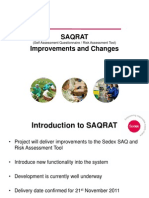 SAQRAT Improvements and Changes1
