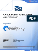 3D Security Analysis Sample Report 14