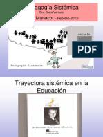 Pedagogia sistèmica