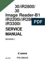 Canon IR 2200 2800 3300 SM