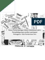 Kasus Penyimpangan Dalam Kebebasan Pers