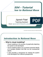 Cs554 Introduction to Rational Rose 12219
