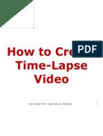 Mia_Padua_How to Create Time-Lapse Video