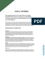 AutoCAD 2010 - Características y Ventajas